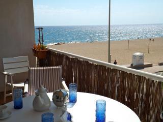 Terrace sea view.- SA PUNTA COSTA BRAVA
