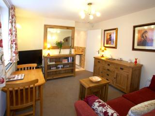 The TV has freesat, and WiFi is available in all rooms