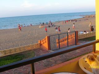 Vista desde la terraza del acceso a la playa.