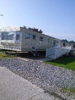 bluebird 3 bed caravan on haven blackpool, Fleetwood