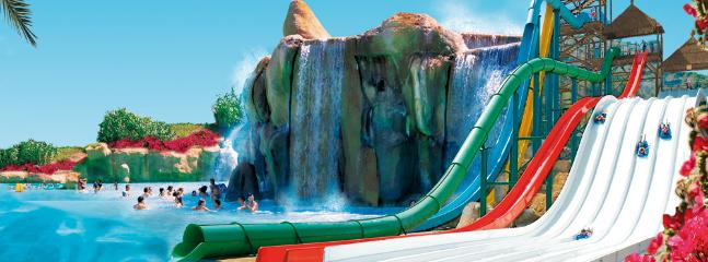 Aqualandia Water Park - the largest in Spain - 10 min walk