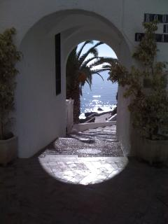 Nerja Beach path