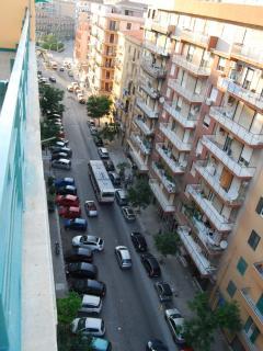 vista su strada terrazzo