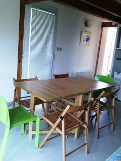 salon table ouverte pour 6