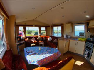 Main living area of the caravn