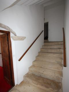 16th Century Stone Staircase
