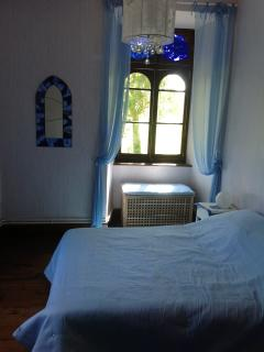 Summer Double Bedroom, 1st floor, dual aspect.