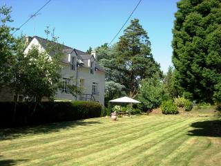The house shares the site but has its own private parking, garden, & terrace