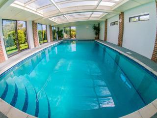 9 meter long Indoor heated swimming pool
