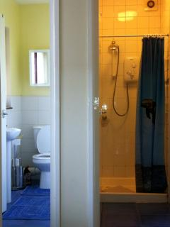 Separate wc and shower room for convenience.