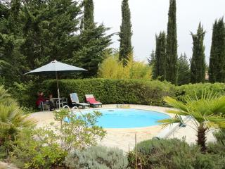 Stonehouse with pool near Fayence.