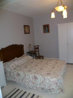 1ére chambre (16m2) avec le lit enfant