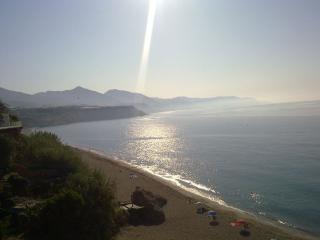 Mirador del Bendito, que da acceso a la Playa de carabeillo (que se une a Burriana)