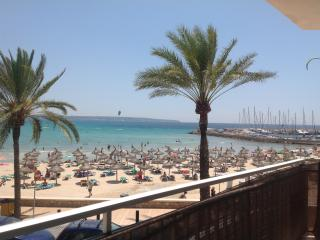 Bonito apartamento frente al mar, Can Pastilla
