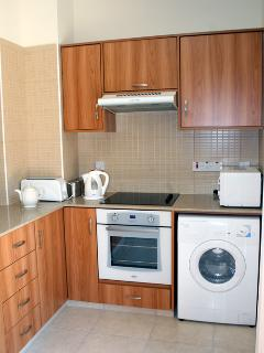 Epicurea's well-equipped kitchen