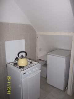 First view of the kitchen