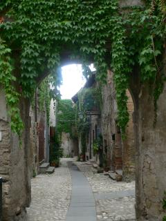 Part of the old town, known as 'La Rocca