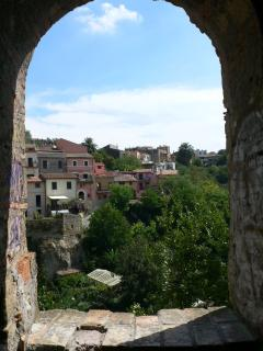 A view of Capena from 'La Rocca