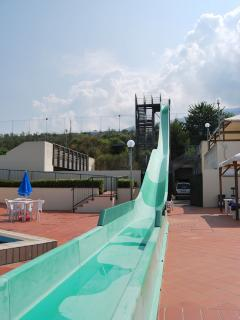 The local pool (10-15m walk)