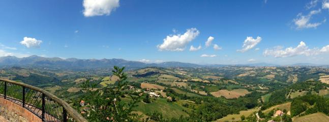 Never tiring panorama, 'al Monte'.
