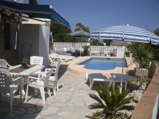 Casa con vistas preciosas al mar para 2 a 16, Benissa