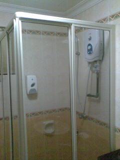 Second bathroom/shower