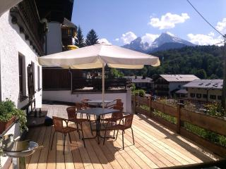 2 Bedroom apartment with Watzmann mountian view