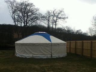 Riverside Yurt, Contin