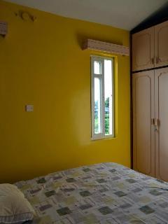 Sneak Peek.... Master Bedroom en suite in summer lilac and yellow