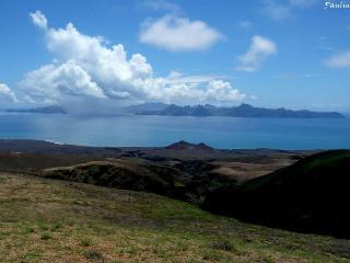 A ilha de São Vicente visto de Santo Antao