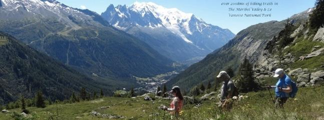 Meribel & The 3 Valleys have over 200kms of marked trails for hiking and biking