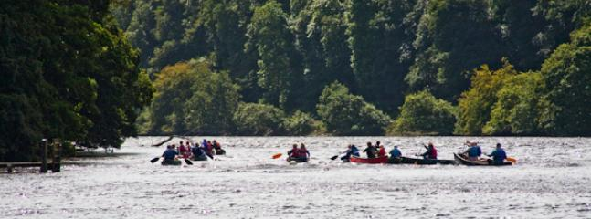 Kayaking in Fowey
