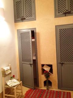 detail of SINDBAD's room - cupboards