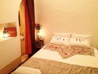 Bedroom SINDBAD in a beautiful Riad in Marrakech