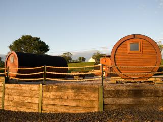 Glamping area