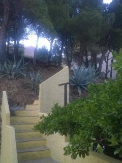 Stairway to heaven - 1000 sqm of fun in a big wild garden with stunning views!
