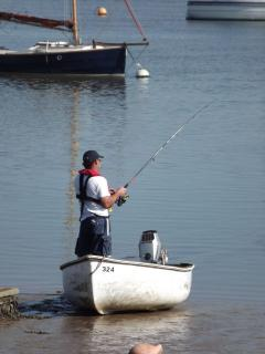 Fishing at Quayside