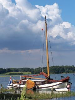 Visiting Dutch sailing barge