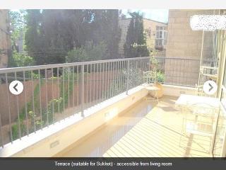 Luxury 3BR +spacious terrace at Rehavia