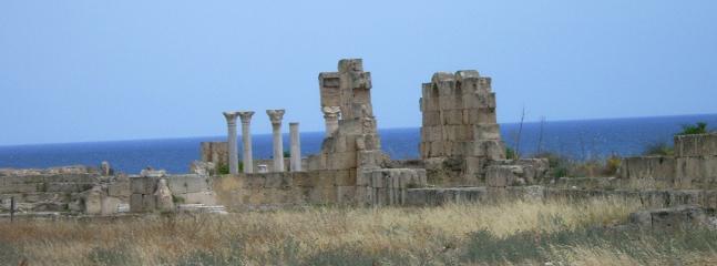 Salamis ancient ruins