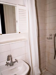 The first bathroom