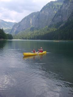 Canoeing on Lake Montriand in 40 mins... or try Lake Geneva in 15 mins