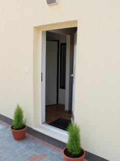 Entrance in the apartment