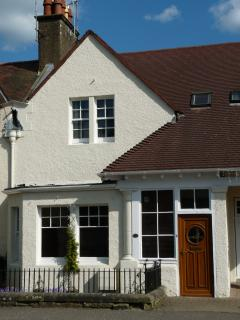 The front aspect of Coorie Doon Cottage