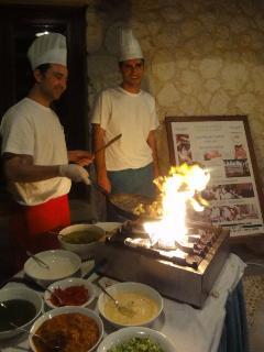 Dine at Patara resort, 2 min walk from your villa