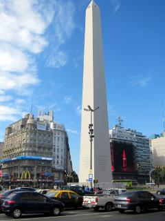 9 of July Avenue (600m) & The Obelisk is a national historic monument (900m) to the west