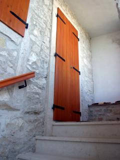 House Rear Entrance