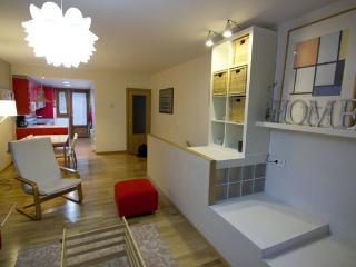 Apartamento de 100 m2 para 7 p, Villanua