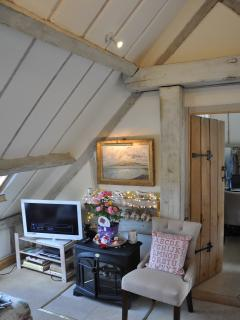 vaulted limed beams for a calm relaxed light feel