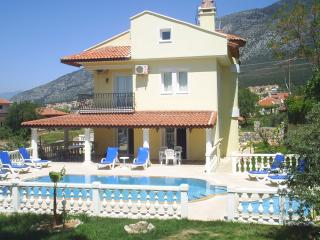 Villa Suzie with beautiful mountain views, plus a games room for indoor fun., Oludeniz